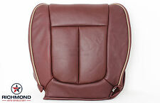 2010 2011 Ford F150 King Ranch -Driver Side Bottom Perforated Leather Seat Cover