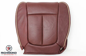 2009-2012 Ford F150 King Ranch -Driver Side Bottom Perforated Leather Seat Cover