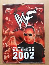 World Wrestling Federation 2002 12-month calendar