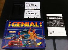 Compilation genial for msx in cassettes (edition Erbe software)
