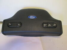 91-96 FORD ESCORT STEERING WHEEL HORN PAD COVER NEW ORIGINAL WHIT CRUISE CONTROL