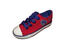 Canvas girls shoes / trainers in 4 colours! Size UK 8 - 12 UK NEW
