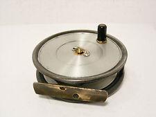 """Vintage Antique Hardy Uniqua 3 ⅝"""" Alloy Trout Fishing Reel - Spitfire Drum..."""