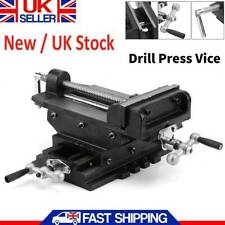 Heavy Duty 6inches Cross Drill Press Vise Slide Metal Milling 2 Way Clamp Vice