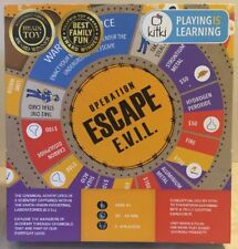 Kitki ESCAPE EVIL Fun Educational Board Games STEM Chemistry Toys COMPLETE