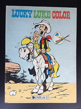 Livre album à colorier Lucky Luke Dargaud 1984 TBE
