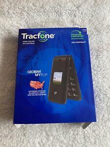 Alcatel My Flip A405DL - 4GB - Gray (Tracfone) Cellphone
