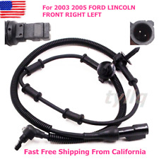 New Abs Wheel Speed Sensor Brakes Front Right Left for 2003 2005 Ford Lincoln (Fits: Lincoln Aviator)