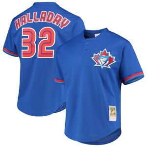 Roy Halladay Toronto Blue Jays Mitchell & Ness Cooperstown Authentic Pro Jersey
