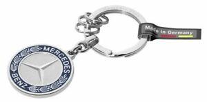 Mercedes-Benz 2016 Collection Key Ring Stuttgart Silver B66041524 Genuine New