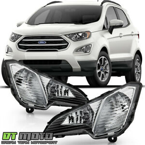 2018-2019 Ford Ecosport Bumper Fog Lights Driving Lamps w/ Switch Set Left+Right