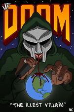 "004 MF Doom - Daniel Dumile Super Villain Hip Hop Artist 14""x21"" Poster"
