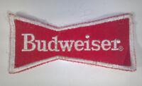 "Vintage Budweiser Beer Bow Tie 3.75"" Patch Badge"