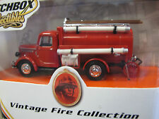 Matchbox Collectibles Vintage Fire Collection Red Water Tanker
