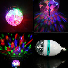 RGB DJ Club Disco KTV Party Bar Crystal LED Ball Projector Stage Effect Light 3W