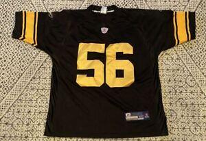 LaMarr Woodley Pittsburgh Steelers NFL Football Reebok Jersey Size 50