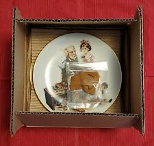 """New ListingNorman Rockwell 1982 Plates """"Four Beloved Classics"""" Series A Limited Edition"""