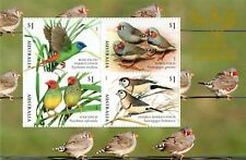 AUSTRALIA 2018 -FINCHES OF AUSTRALIA CANBERRA 16-18 MARCH STAMPSHOW MINI SHEET
