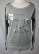 Lorna Jane Grey Marl Sparkle Starlight Sweatshirt Size S