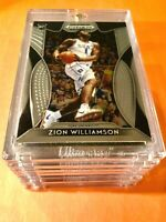 Zion Williamson ROOKIE CARD PANINI PRIZM INSERT CARD DRAFT PICKS RC #1 - Mint!