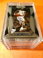 Zion Williamson ROOKIE CARD PANINI PRIZM DRAFT PICKS 2019-20 HOT RC #1 - Mint!