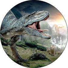 Dinosaure Animal Décoration  Gateau Disque Azyme Comestible  20cm