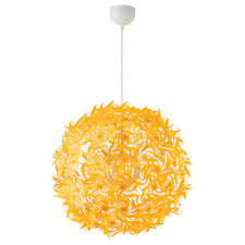 New IKEA GRIMSAS Pendant lamp Yellow Energy Rating A++ 55 cm,decorative patterns
