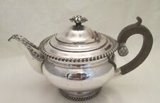 Un gran plato temprano 19thC Old Sheffield Tea Pot-Alta Calidad