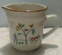 "International Stoneware Japan Heartland Creamer 4"" tall"