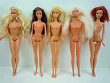 Paquete De 5 Vintage 1980-90'S Muñecas Barbie desnuda/3 Twist & Vuelta