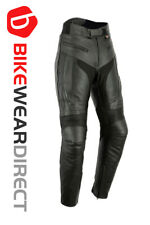 Texpeed Mens RS Sports Leather Motorcycle Trousers With Removable Armour - All