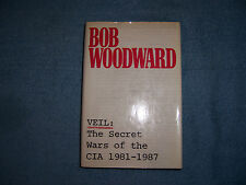 VEIL: THE SECRET WARS OF THE CIA 1981-1987 by Bob Woodward/HCDJ/History/U.S.