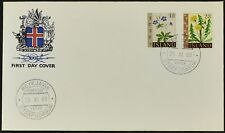 Iceland 1960 Wild Flowers FDC First Day Cover #C53852