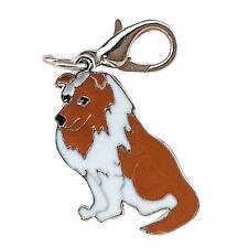 Border Collie Anhänger für Kette, Schlüsselbund, Armband etc. Hund Schmuck
