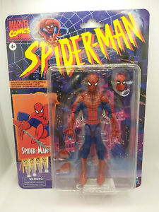 Marvel Legends SPIDER-MAN RETRO ANIMATED Series 6-inch Action Figure Hasbro NEW