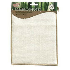BAMBOO CLEANING CLOTH GREEN CLEAN SOFT HOUSE GLASS MIRRORS COMPUTER KITCHEN