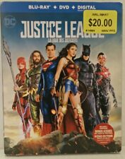Justice League (Blu-ray, DVD, Slipcover)