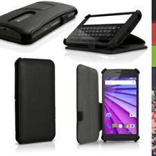 Fundas con tapa Para Motorola Moto G de piel sintética para teléfonos móviles y PDAs