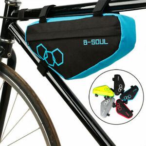 Waterproof Mountain Bike Triangle Bag Bicycle Frame Front Tube Bags Storage