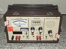 More details for british telecom (bt) 'telex' tg 2753 dat 86/2 line measuring set - super rare!