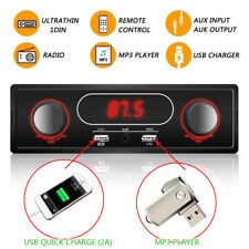 In-Dash 1DIN Car Radio MP3 Player Classic Car Stereo Audio Stereo USB/AUX/FM