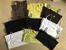 River Island M&S Marks Spencer Women's Ladies Bundle Vest Tops x 9 Sizes 12 & 14