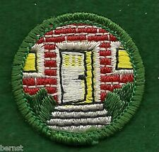 GIRL SCOUT BADGE - BUCKHAM BACK - HOMEMAKER