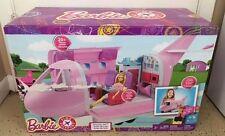 Barbie Airplane Jet Glamour Pink passport back to school