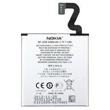 Nokia Lumia 920 Batterie d'origine Li-Ion-polymère bp-4gw 2000mah Lithium Ion Ba