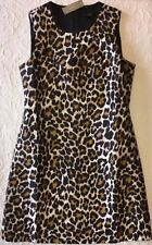 J. Crew Dress 0 Leopard Print Shift $98 f7080 NWT NEW