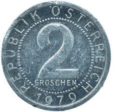 1979 / 2 GROSCHEN / AUSTRIA / OSTERREICH / COLLECTIBLE COIN   #WT29999
