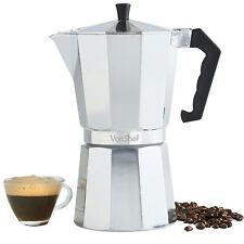 VonShef Italian Espresso Coffee Maker Stove Top Moka Macchinetta