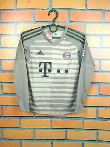 Bayern Munich Jersey 2019 Goalkeeper Youth 9-10 Shirt Adidas Boys Kids DQ0705
