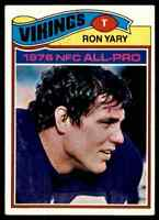 1977 Topps #150 Ron Yary HOF NRMT Minnesota Vikings / USC Trojans